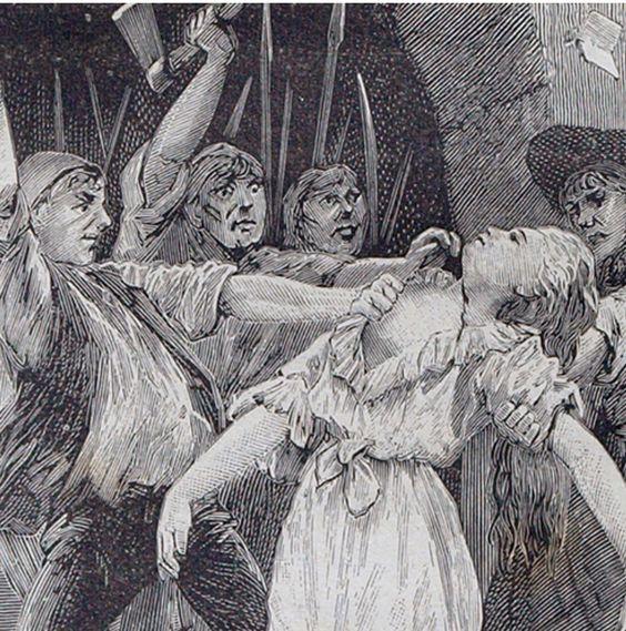Muerte de la Princesa de Lamballe