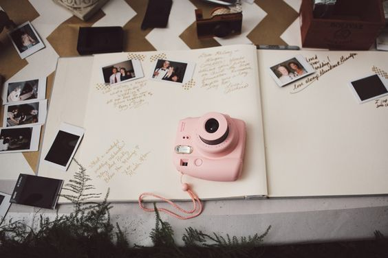 Love this idea for guest book