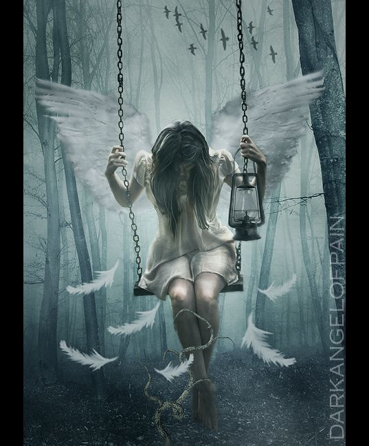 Angel fall first by darkangelofpain.deviantart.com on @deviantART