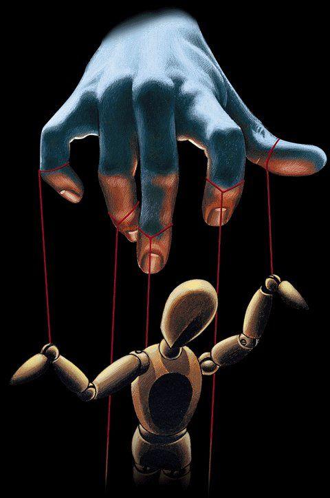 Manipulatie is de specialiteit van deze persoon.