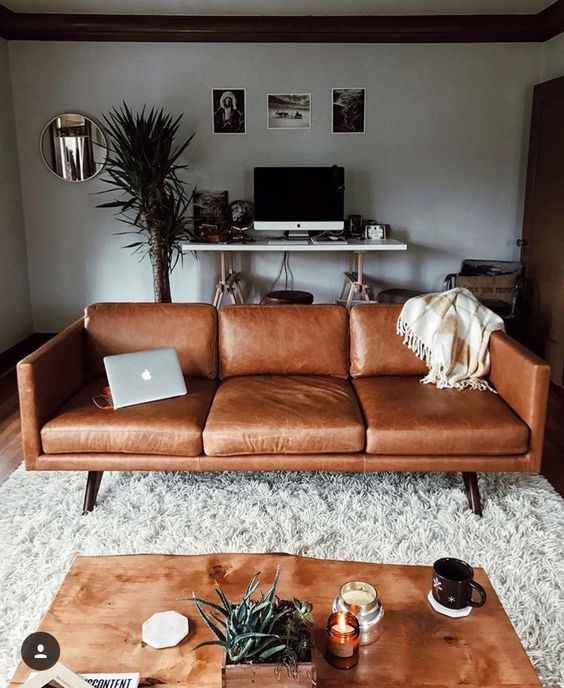 Cùng chuẩn bị sofa da thật tphcm cho phòng khách đón 2019