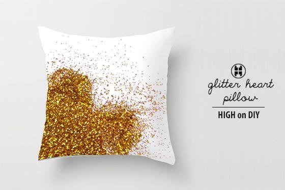 DIY_Glitter_Sequin_Metallic_Heart_Pillow2