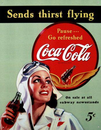 レトロなコカ・コーラ