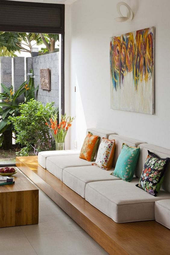 Surprisingly Cute Home Living Room