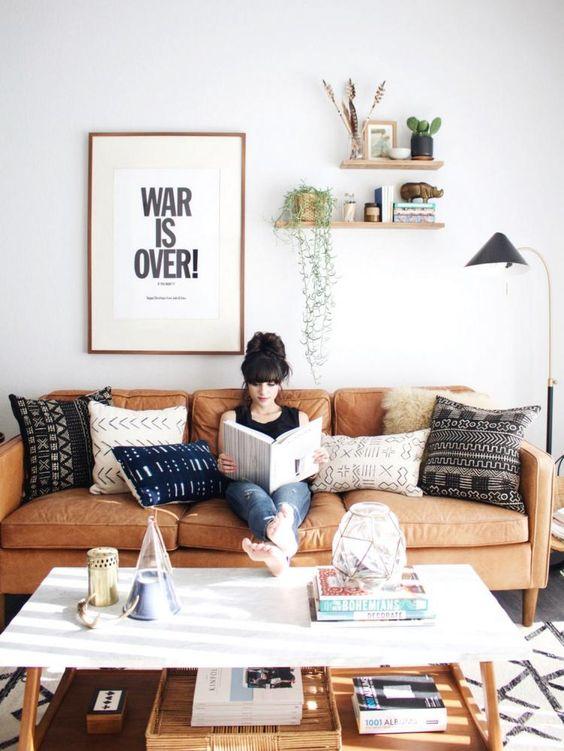 Bán sofa da thật tphcm với các kiểu phòng khách đa dạng