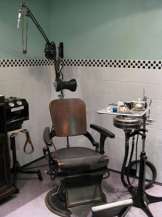 Consultorio dental 1950.