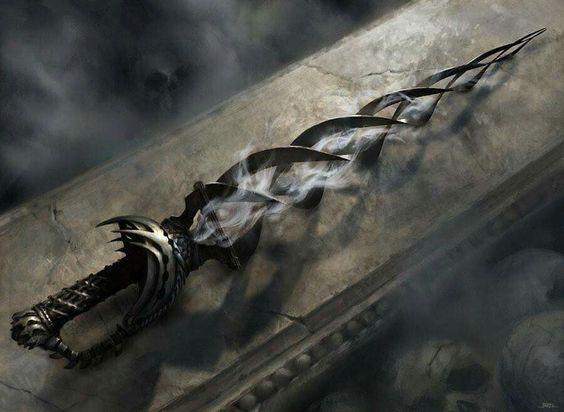 Fantasy shadow sword