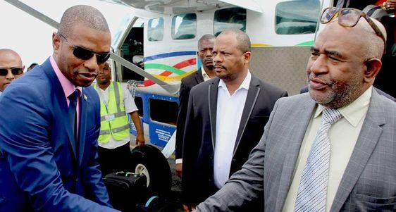 Le Président de la République est arrivé sur l'île d'Anjouan ce lundi après-midi