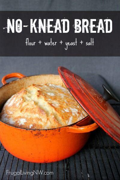 Basic No-Knead Bread