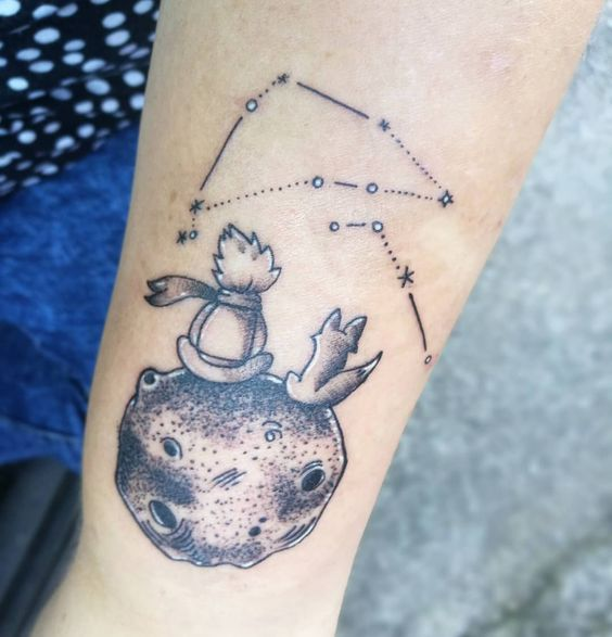 Capricorn & Aries tattoo /little prince tattoo