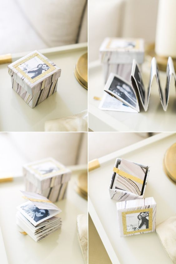DIY Instagram Photo Box - 18 Sweet DIY gift ideas for him - TodayWeDate.com