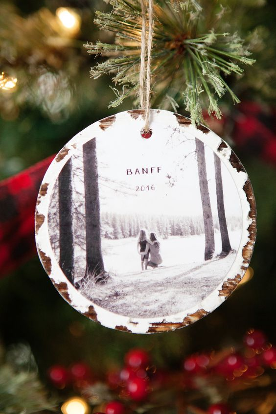 DIY photo keepsake ornament - diy gift for him- todaywedate.com