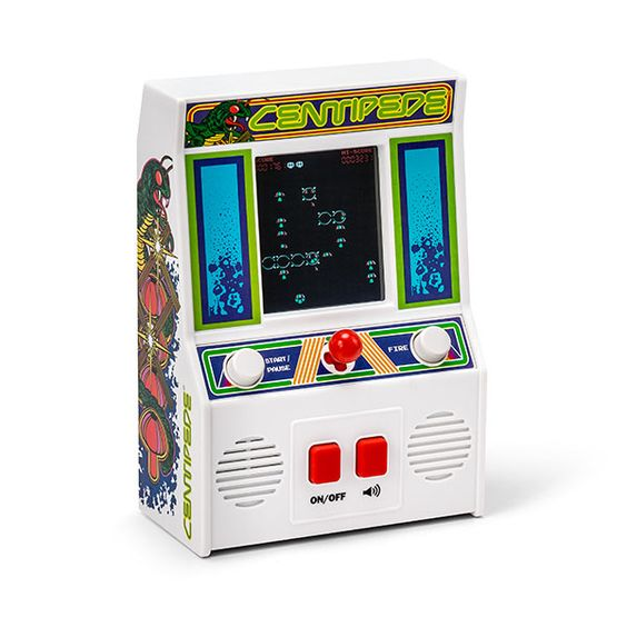 Centipede Mini Arcade Game-16 Nerdy gifts to surprise him - TodayWeDate.com