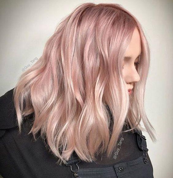 50 popolari tonalità di capelli rosa e rosa per il 2019 #capelli #popolari #tonalita