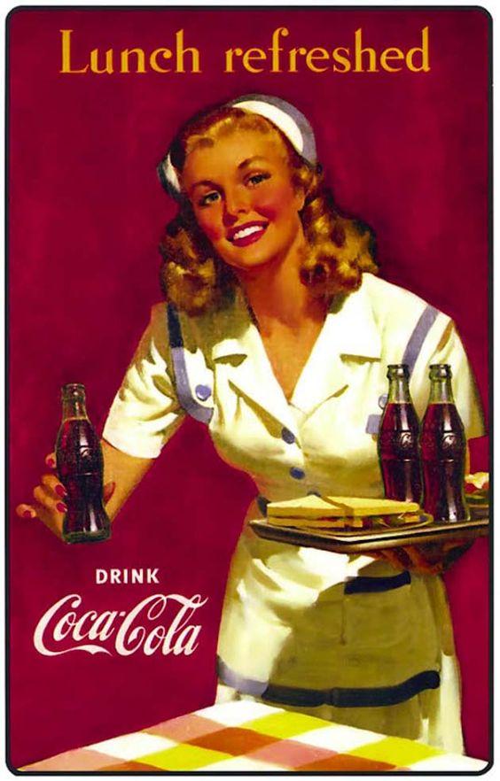 金髪娘のコカ・コーラ