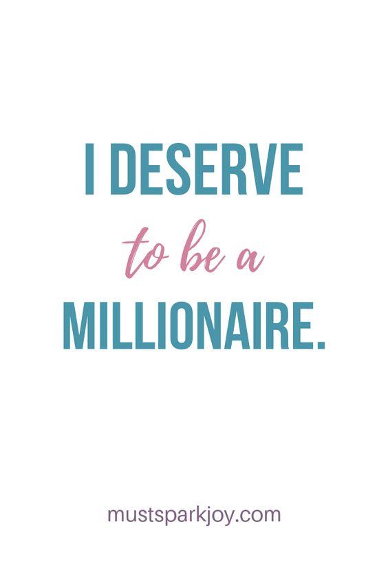 Have a MILLIONAIRE MINDSET.    subliminals | subliminal messages | law of attraction | loa | conscious creation | money | wealth | abundance  | save money |