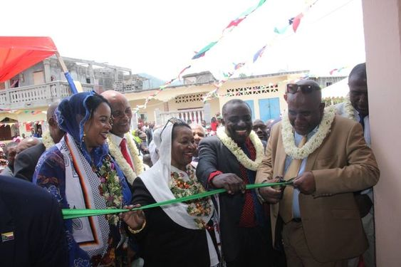 Inauguration des locaux de l'APC à Mwali