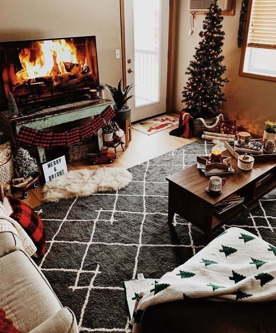 33 Boho Chic Christmas Home Tour Ideas On a Budget