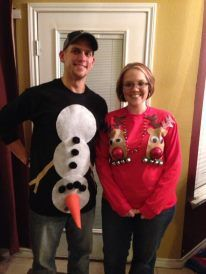 Tacky Christmas Sweaters!   I almost feel bad posting this one.