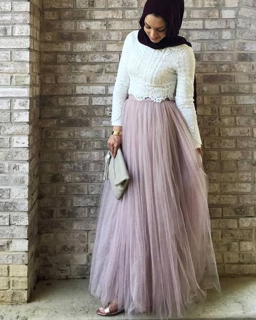 Maxi jupes chic hijab – Just Trendy Girls