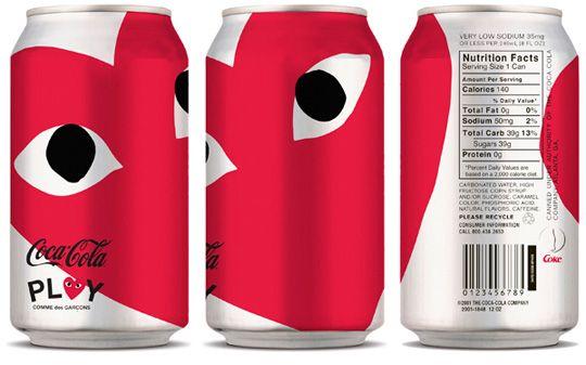 コカ・コーラとPLAY COMME des GARÇONS