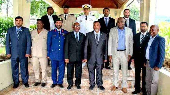 Une mission des forces de défense et de sécurité émiraties reçue à Beit-Salam