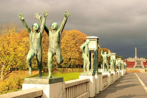 Vigeland Park Oslo Norway