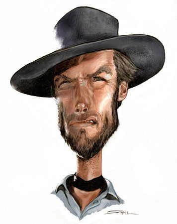 Clint Eastwood Artist: Jeff Stahl