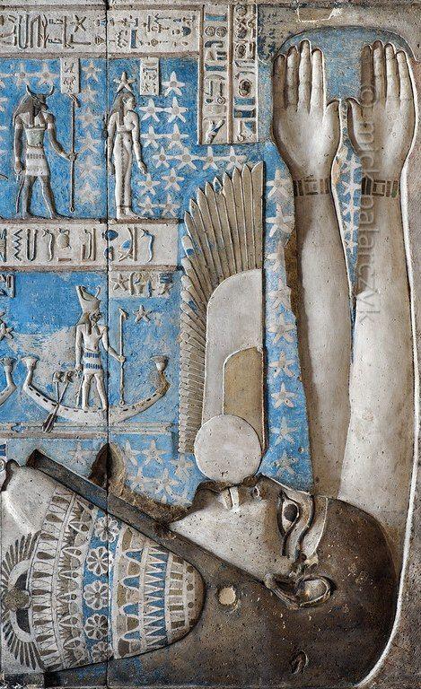 Храм богини Хатхор, строительство и декорирование длилось 2 столетия. |  Дендер, Верхний Египет