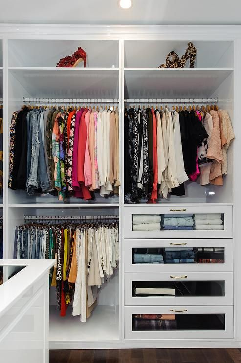 Fresh Closet Decor