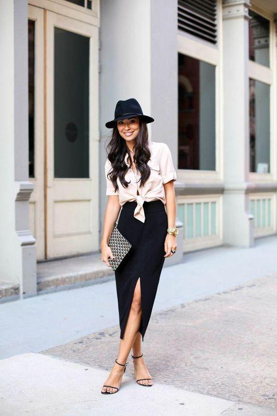 32 outfits combinando diferentes estilos de falda | Belleza