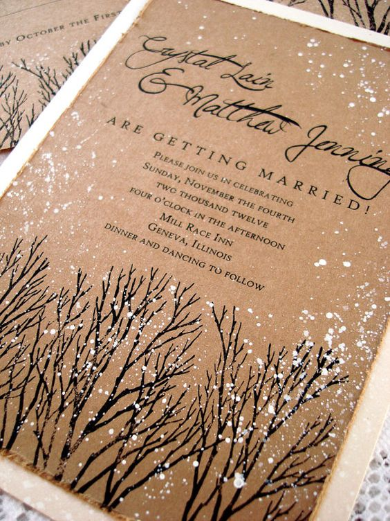 Χριστουγεννιάτικος γάμος προτάσεις