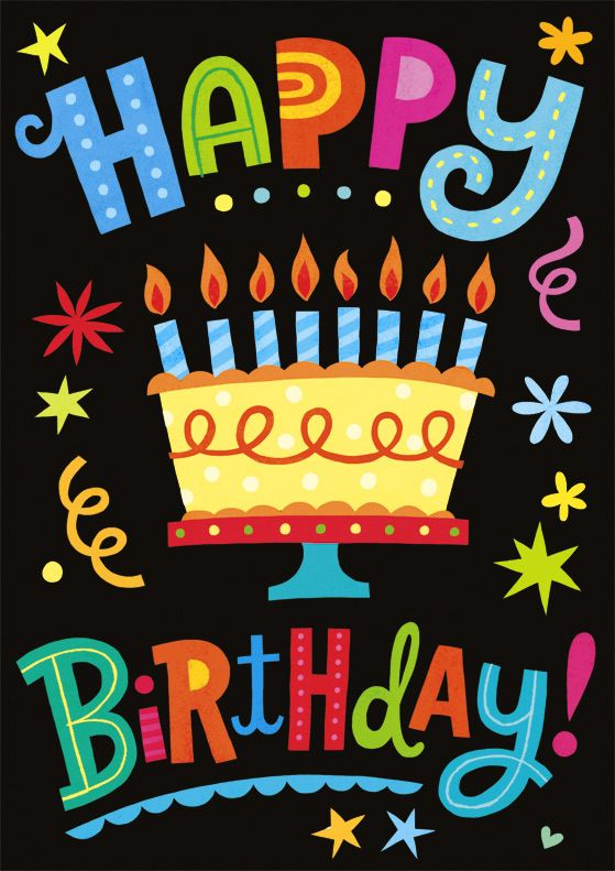 Happy birthday - If it's your birthday when you see this, then, Happy BIrthday To You! (And many more)