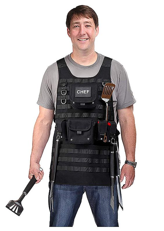 A MOLLE apron for the home cook-16 Nerdy gifts to surprise him - TodayWeDate.com