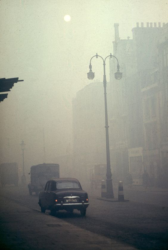 Within 5 days in 1952, London smog killed 4,000 people
