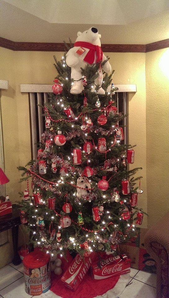 コカ・コーラのクリスマスツリー