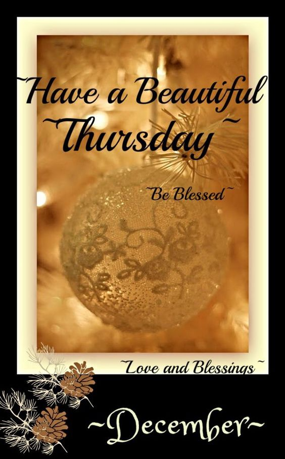 Have a beautiful Thursday! ❤ï¸Â