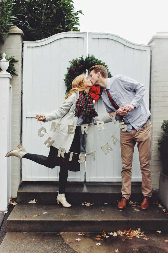 Cute Christmas Ideas For Couples.31 Very Merry Christmas Photo Ideas For Couples Today We Date