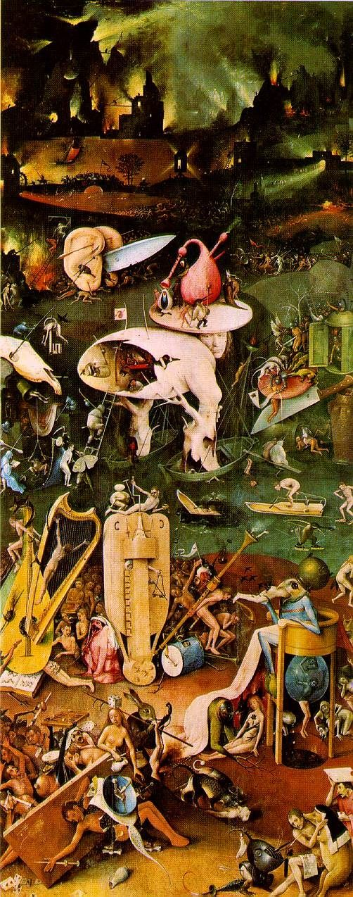Hieronymus Bosch, Right Panel (Hell)