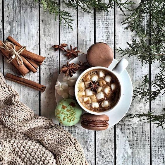 Идея фото для инстаграм - зимняя раскладка. Флатлей, уют, flatlay #фото #уют #flatlay