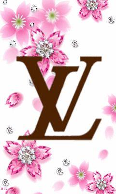 桜が光るルイヴィトン