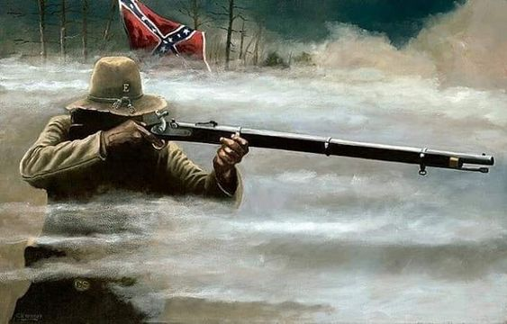 The Confederate Soldier.  Darkness fall's on the weak and strong , Night time pleasures nothing but the sounds off the wounded crying out…