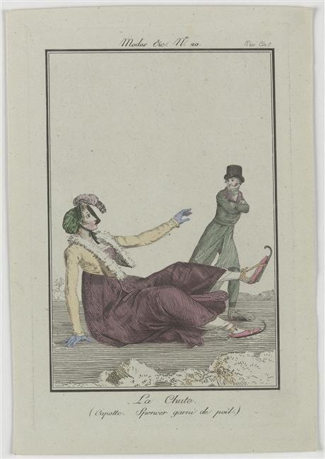 Fashion plate, 1801, Journal des Dames et des Modes
