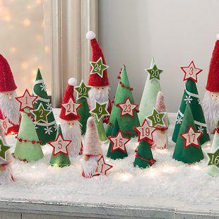 Adventskalender als Weihnachts-Wichtelwald