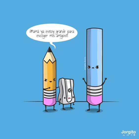 Jorgito Art y sus ilustraciones cómicas (Yosfot blog)