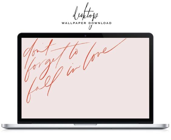 *FREE* Valentine's day desktop wallpaper | lark & linen