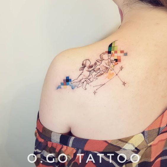 gemini tattoo ideas