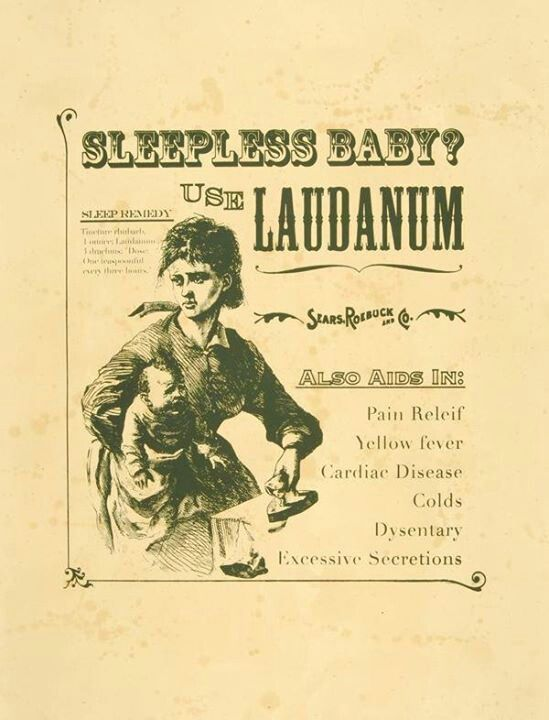 Opiates for baby. .