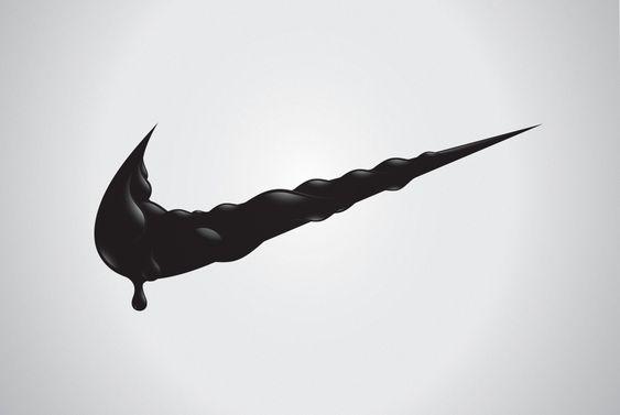 変形NIKEロゴ