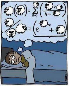 ¿Por qué contar ovejas, cuando las matemáticas pueden ayudarte a calcular :-)